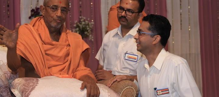 Swamiji's Arrival