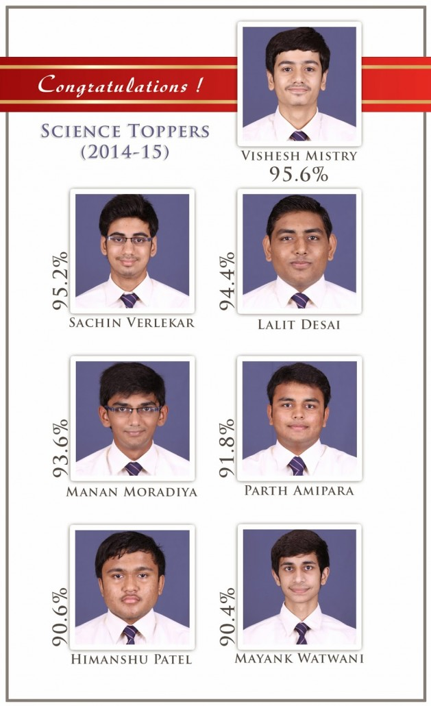 AVM 2014-15 12 Science Toppers