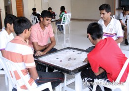 Inter House Carrom Competition 2015-16